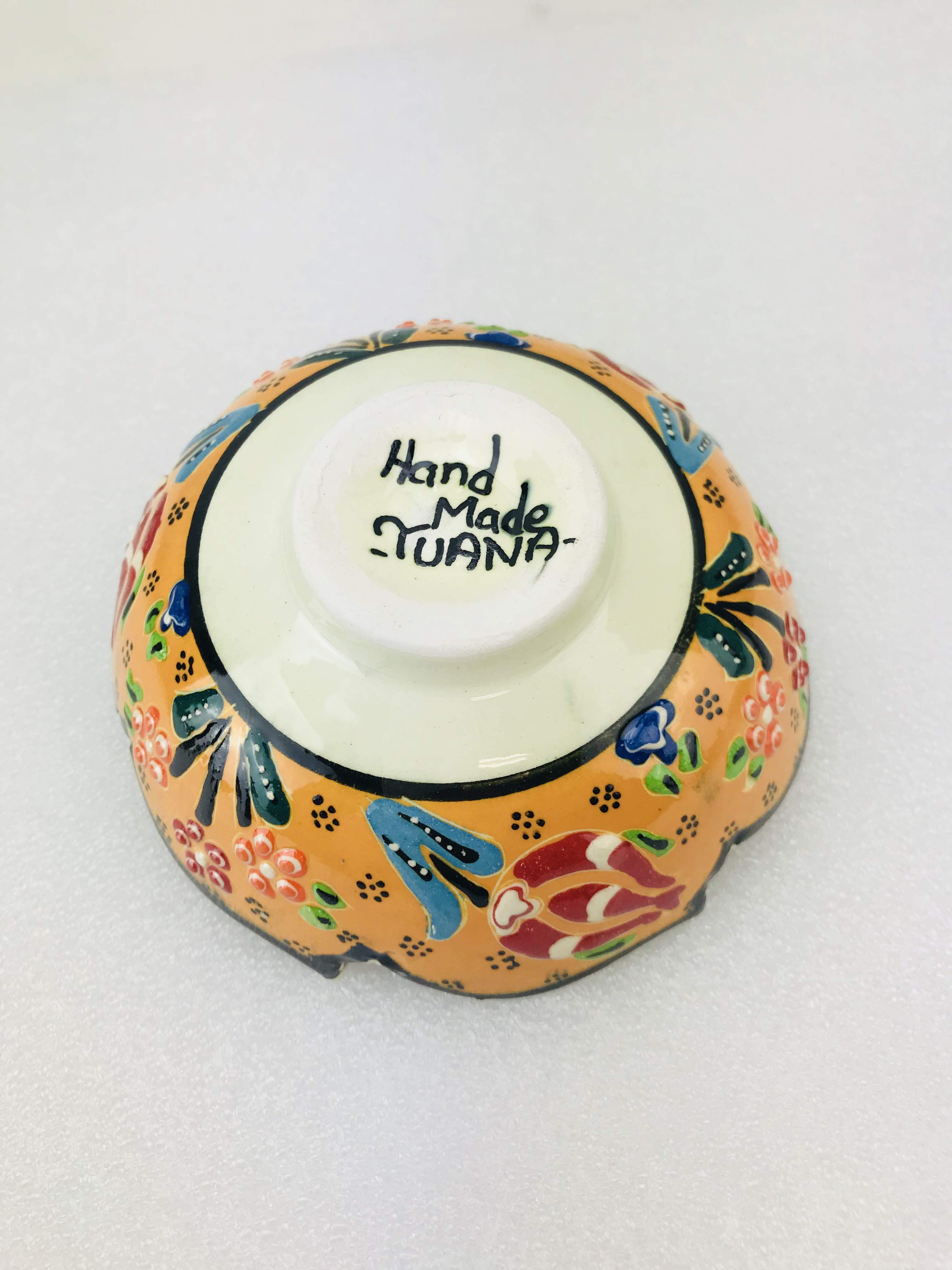 Jewellery,... Snack Traditional Turkish Multicolour Hand Painted Bowl Small